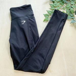 Gymshark High Rise Black Leggings Yoga Pants